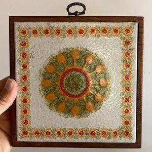 Vintage Tile Decor